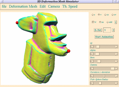 A Simple Approach to Interactive Free-Form Shape Deformations
